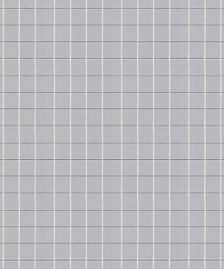 Mosaikspegel 5x5 mm - Silver - 10-19420410