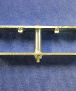 2-bensklammer, 60x60 mm - Rapid