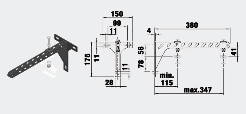 Väggfäste - Trumpf 95 10-3115806