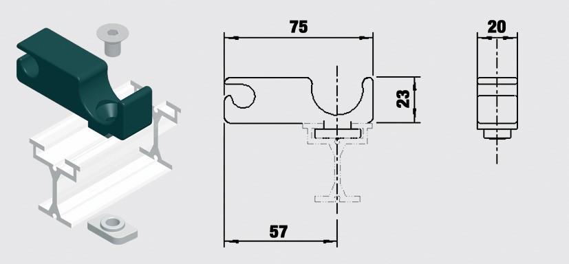 Linstyrning  Trumpf -95 10-31153031
