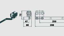 Löpvagn 4+4 hjulig med omlottbygel - Trumpf 10-31100011