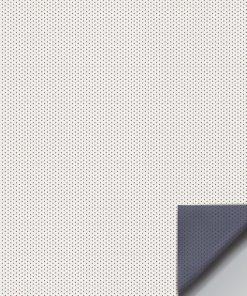Gammalux Microperf, vit m grå baksida - 10-21112000