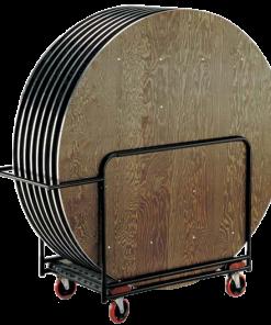 HRTC - Vagn för runda bord, kapacitet 8 st.