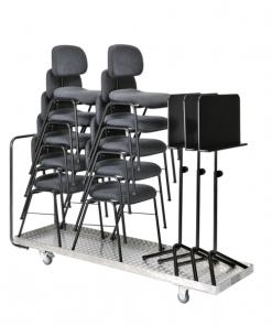 Transportvagn för stolar och notställ (Kolberg)